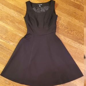 Sleeveless Little Black A Line Dress